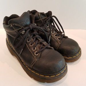 Dr Martens Combat  Boots Sz 6 US Made in England